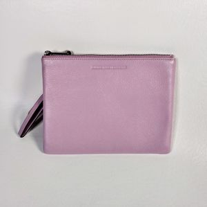 Amiee Kestenberg Soft Lavender Leather Pouch